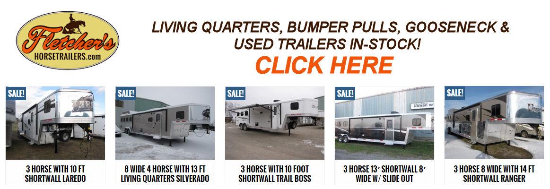Visit Fletcher's Horse Trailers